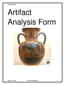 Artifact Analysis Form