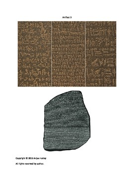 Artifact Interpretation Activity-Look What I Found