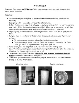 Artifact/Mystery Project