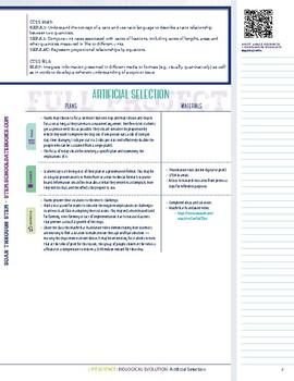 Artificial Selection - STEM Lesson Plan