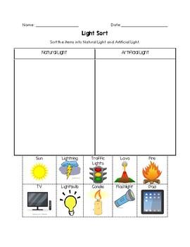 Artificial vs Natural Light Sort