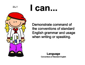 Artist 2nd grade English Common core standards posters