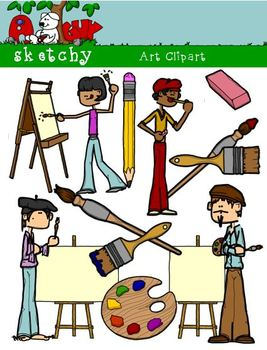 Artist / Art Materials Supplies Clipart Graphics 300dpi Co