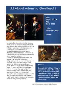 Artist-Artemisia Gentileschi
