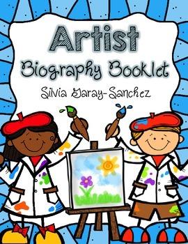 Artist Biography Booklet