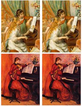 Artist Cards - Pierre Auguste Renoir
