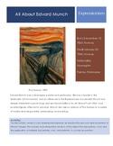 Edvard Munch-The Scream Sketchbook Prompt