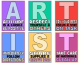 Art Rules Artist Expectations Signs