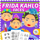 Frida Kahlo Activity (Womens History Month Activities Craf