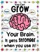 Artist Growth Mindset Poster Freebie