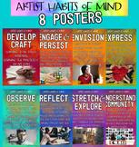 Artist Habits of Mind Studio Posters Art Graphic Design Cl