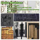 Artist Info Poster: Louise Nevelson