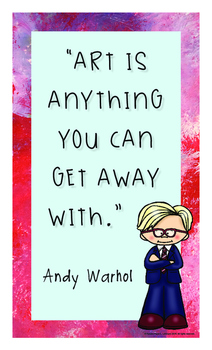 Dollar Deals: Art History Inspirational Posters: Andy Warhol