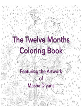 The Twelve Months Coloring Book – With Art by Masha D'yans!