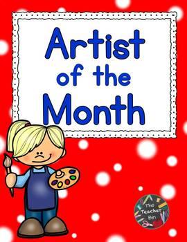 Kindergarten - Art - Artist Of The Month