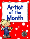 Kindergarten - Art - Artist Of The Month