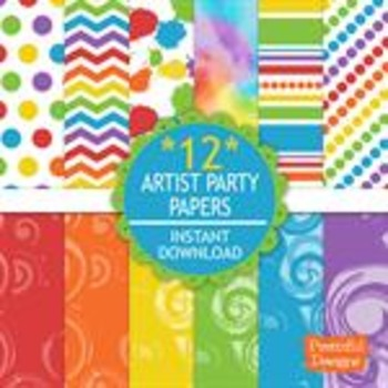 Artist Party Paper Pack
