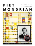 Artist Piet Mondrian Artwork Discussion Cards