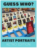 Artist Portraits Guess Who: Art Game