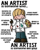 Artist Poster [someone who]
