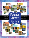 Famous Artist Posters Bundle #1