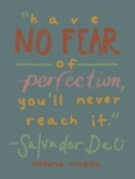 Artist Quote Inspo Poster-Dali