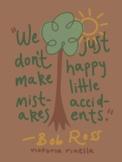 Artist Quote Inspo Poster-Ross