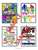 Growth Mindset Art Classroom Posters