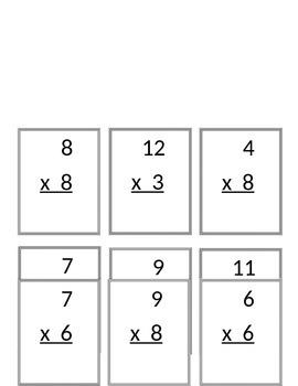 Artist Race: Multiplication Problem Solving and Computation (Question Set B)