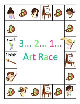 Artist Race: Multiplication Problem Solving and Computation (Question Set B)