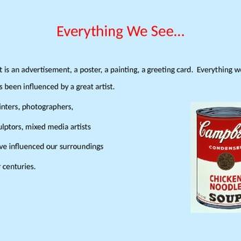 Artist Report PowerPoint