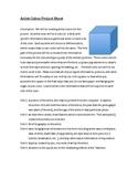 Artist Research Cubes
