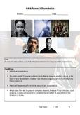 Artist Research Presentation Assesment