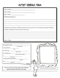 Artist Research Worksheet