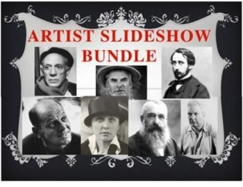 Artist Slideshow Bundle:  7 PowerPoint Presentations!