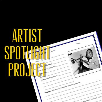 Artist Spotlight - Musician Profile Project