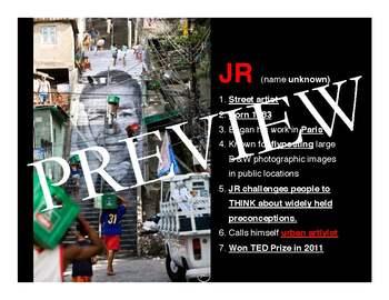 Artist Spotlight Unit | JR