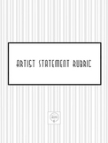 Artist Statement Rubric