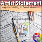 Artist Statements: Teach Students to Write Artist Statements