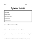 Artist Study Worksheet