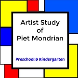 Artist Study of Piet Mondrian