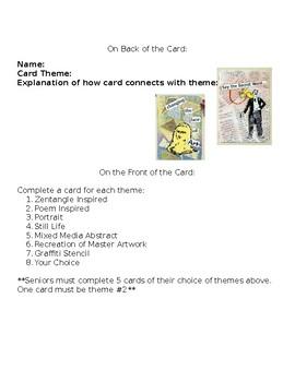 Artist Trading Card Handout