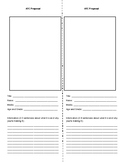 Artist Trading Card Proposal Worksheet