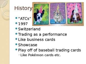 Artist Trading Cards- Art Careers