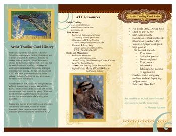 Artist Trading Cards - Information Brochure
