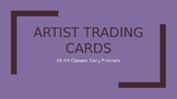 Artist Trading Cards Introduction