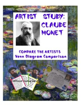 Venn Diagram:  Compare and Contrast Famous Artists