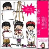 Artist clip art - Thomas - Mini - by Melonheadz Clipart