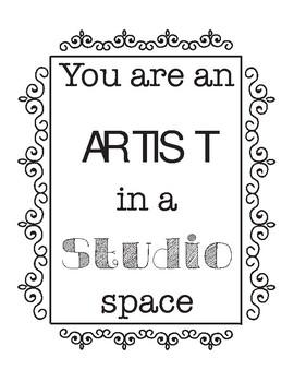 Artist in Studio Space