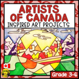 Artists of Canada Inspired Art Projects